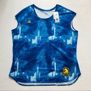 adidas Women's Boston Marathon Running Tee Size XL